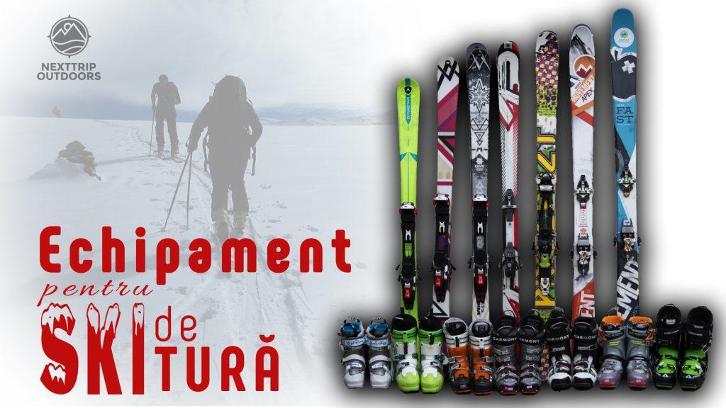 echipament ski de tura